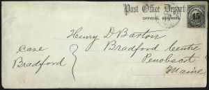 Sale Number 1085, Lot Number 4088, Post Office Department (Scott O47-O56)15c Post Office (O53), 15c Post Office (O53)