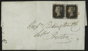 Sale Number 1086, Lot Number 2002, Great BritainGREAT BRITAIN, 1840, 1p Black (1; SG 2), GREAT BRITAIN, 1840, 1p Black (1; SG 2)