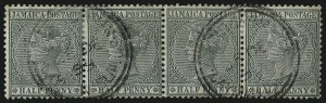 Sale Number 1086, Lot Number 2141, Cape of Good Hope thru Cayman IslandsCAYMAN ISLANDS, Jamaica, 1898, -1/2p Green (A17a; SG Z10a), CAYMAN ISLANDS, Jamaica, 1898, -1/2p Green (A17a; SG Z10a)