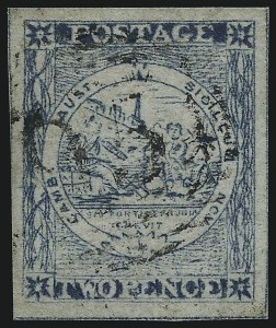 Sale Number 1086, Lot Number 2240, New South WalesNEW SOUTH WALES, 1850, 2p Dull Blue, Retouched Plate II (5F; SG 28), NEW SOUTH WALES, 1850, 2p Dull Blue, Retouched Plate II (5F; SG 28)