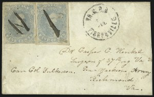 Sale Number 1087, Lot Number 506, Railroads and Waterways5c Light Milky Blue, Stone 3 (4b), 5c Light Milky Blue, Stone 3 (4b)