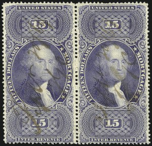 Sale Number 1089, Lot Number 308, First Issue Perforated15c Ultramarine, Perforated (R97e), 15c Ultramarine, Perforated (R97e)