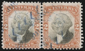 Sale Number 1089, Lot Number 512, Third Issue2c Vermilion & Black, Third Issue (R135a), 2c Vermilion & Black, Third Issue (R135a)