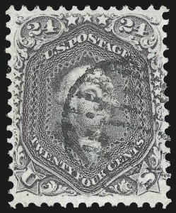 Sale Number 1090, Lot Number 1199, 1861-66 Issue (Scott 56-78)24c Red Lilac (70), 24c Red Lilac (70)
