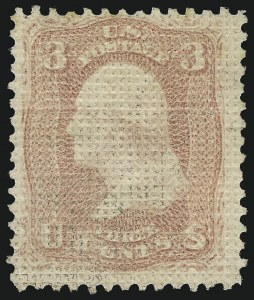 Sale Number 1090, Lot Number 1214, 1867-68 Grilled Issue (Scott 79-101)3c Rose, A. Grill (79), 3c Rose, A. Grill (79)