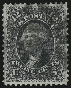 Sale Number 1090, Lot Number 1234, 1867-68 Grilled Issue (Scott 79-101)12c Black, F. Grill (97), 12c Black, F. Grill (97)