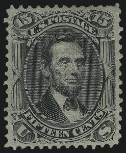 Sale Number 1090, Lot Number 1235, 1867-68 Grilled Issue (Scott 79-101)15c Black, F. Grill (98), 15c Black, F. Grill (98)
