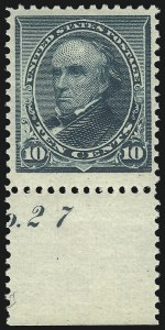 Sale Number 1090, Lot Number 1376, 1890-93 Issue (Scott 219-229)10c Green (226), 10c Green (226)