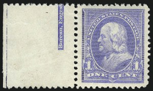 Sale Number 1090, Lot Number 1402, 1894-98 Bureau Issues (Scott 246-284)1c Ultramarine (246), 1c Ultramarine (246)
