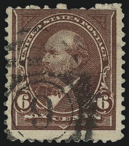 Sale Number 1090, Lot Number 1407, 1894-98 Bureau Issues (Scott 246-284)6c Dull Brown, USIR Watermark (271a), 6c Dull Brown, USIR Watermark (271a)