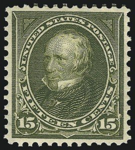 Sale Number 1090, Lot Number 1412, 1894-98 Bureau Issues (Scott 246-284)15c Olive Green (284), 15c Olive Green (284)