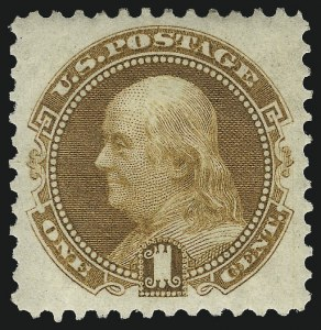 Sale Number 1092, Lot Number 1106A, 1869 Pictorial Issue and 1875-Re-Issue (Scott 112-133)1c Buff (123), 1c Buff (123)