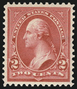 Sale Number 1092, Lot Number 1219, 1894-1903 Bureau Issues (Scott 246-284)2c Red, Ty. IV (279B), 2c Red, Ty. IV (279B)