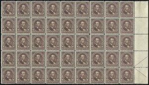 Sale Number 1092, Lot Number 1220, 1894-1903 Bureau Issues (Scott 246-284)4c Lilac Brown (280a), 4c Lilac Brown (280a)