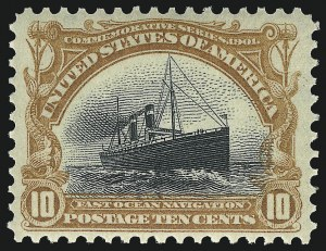 Sale Number 1092, Lot Number 1248, 1901 Pan-American Issue (Scott 294-299)1c-10c Pan-American (294-299), 1c-10c Pan-American (294-299)