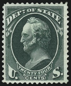 Sale Number 1092, Lot Number 1462, Officials24c State (O65), 24c State (O65)