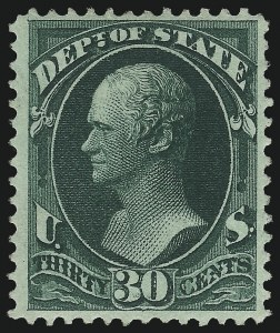 Sale Number 1092, Lot Number 1463, Officials30c State (O66), 30c State (O66)