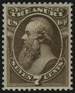 Sale Number 1092, Lot Number 1464, Officials7c Treasury (O76), 7c Treasury (O76)