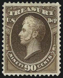 Sale Number 1092, Lot Number 1467, Officials90c Treasury (O82), 90c Treasury (O82)