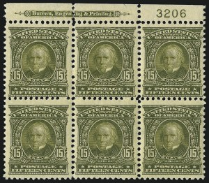 Sale Number 1093, Lot Number 20, 1902-03 Issue (Scott 300-313)15c Olive Green (309), 15c Olive Green (309)