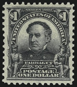 Sale Number 1093, Lot Number 27, 1902-03 Issue (Scott 300-313)$1.00 Black (311), $1.00 Black (311)