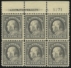 Sale Number 1093, Lot Number 271, 1912-14 Issue (Scott 405-423)15c Gray (418), 15c Gray (418)