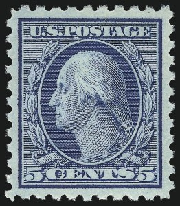 Sale Number 1093, Lot Number 294, 1913-15 Issue (Scott 424-440)5c Blue (428), 5c Blue (428)