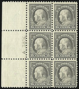 Sale Number 1093, Lot Number 307, 1913-15 Issue (Scott 424-440)15c Gray (437), 15c Gray (437)
