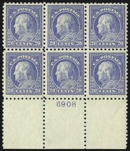 Sale Number 1093, Lot Number 309, 1913-15 Issue (Scott 424-440)20c Ultramarine (438), 20c Ultramarine (438)