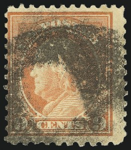 Sale Number 1093, Lot Number 475, 1917-19 Perf 10 on One Side Varieties (Scott 506a-512b)9c Salmon Red, Perf 10 at Bottom (509a), 9c Salmon Red, Perf 10 at Bottom (509a)