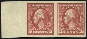 Sale Number 1093, Lot Number 493, 1918-21 Offset, Rotary and Bi-Colored Issues (Scott 525-547)2c Carmine, Ty. V, Imperforate (533), 2c Carmine, Ty. V, Imperforate (533)