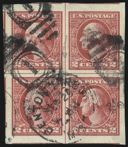 Sale Number 1093, Lot Number 495, 1918-21 Offset, Rotary and Bi-Colored Issues (Scott 525-547)2c Carmine, Ty. V, Imperforate (533), 2c Carmine, Ty. V, Imperforate (533)