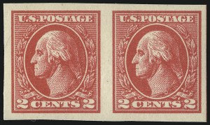 Sale Number 1093, Lot Number 499, 1918-21 Offset, Rotary and Bi-Colored Issues (Scott 525-547)2c Carmine, Ty. VII, Imperforate (534B), 2c Carmine, Ty. VII, Imperforate (534B)