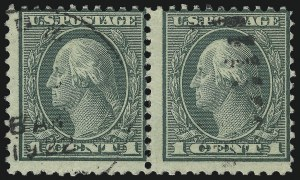 Sale Number 1093, Lot Number 509, 1918-21 Offset, Rotary and Bi-Colored Issues (Scott 525-547)1c Green, Rotary Perf 11 (544), 1c Green, Rotary Perf 11 (544)