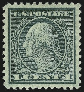 Sale Number 1093, Lot Number 511, 1918-21 Offset, Rotary and Bi-Colored Issues (Scott 525-547)1c Green, Rotary (545), 1c Green, Rotary (545)