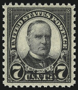 Sale Number 1093, Lot Number 571, 1923 and Later Issues (Scott 578-834a)7c Nebr. Ovpt. (676), 7c Nebr. Ovpt. (676)