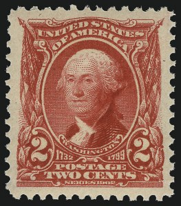 Sale Number 1093, Lot Number 7, 1902-03 Issue (Scott 300-313)2c Carmine (301), 2c Carmine (301)