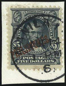Sale Number 1094, Lot Number 398, United States Possessions: PhilippinesPHILIPPINES, 1903, $5.00 Dark Green (239), PHILIPPINES, 1903, $5.00 Dark Green (239)