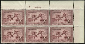Sale Number 1096, Lot Number 1033, Hunting Permits$1.00 1935 Hunting Permit (RW2), $1.00 1935 Hunting Permit (RW2)