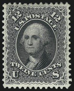 Sale Number 1096, Lot Number 133, 1861-66 Issue, cont. (Scott 69-78c)12c Black (69), 12c Black (69)