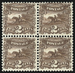 Sale Number 1096, Lot Number 217, 1869 Pictorial Issue (Scott 112-122)2c Brown (113). Mint N.H, 2c Brown (113). Mint N.H