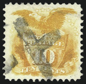 Sale Number 1096, Lot Number 224, 1869 Pictorial Issue (Scott 112-122)10c Yellow (116), 10c Yellow (116)