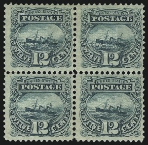 Sale Number 1096, Lot Number 226, 1869 Pictorial Issue (Scott 112-122)12c Green (117), 12c Green (117)