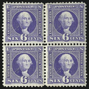 Sale Number 1096, Lot Number 254, 1875 Re-Issue of 1869 Pictorial Issue (Scott 123-133)6c Blue, Re-Issue (126), 6c Blue, Re-Issue (126)