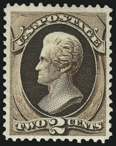 Sale Number 1096, Lot Number 298, 1873-75 Continental Bank Note Co. Issue (Scott 156-166, 178-179)2c Brown (157), 2c Brown (157)