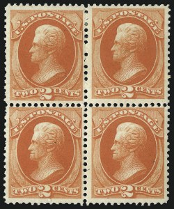 Sale Number 1096, Lot Number 310, 1873-75 Continental Bank Note Co. Issue (Scott 156-166, 178-179)2c Vermilion (178), 2c Vermilion (178)