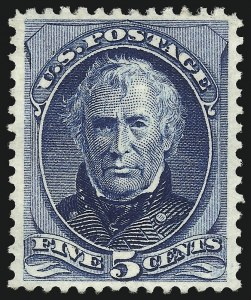 Sale Number 1096, Lot Number 311, 1873-75 Continental Bank Note Co. Issue (Scott 156-166, 178-179)5c Blue (179), 5c Blue (179)