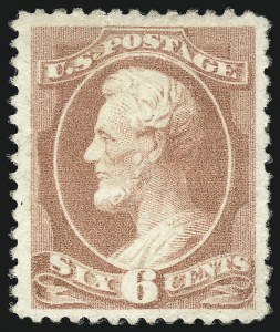 Sale Number 1096, Lot Number 363, 1881-88 American Bank Note Co. Issues (Scott 205-218)6c Rose (208), 6c Rose (208)