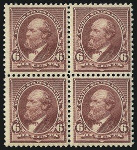 Sale Number 1096, Lot Number 388, 1890-93 Issue (Scott 219-229)6c Brown Red (224), 6c Brown Red (224)