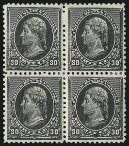 Sale Number 1096, Lot Number 393, 1890-93 Issue (Scott 219-229)30c Black (228), 30c Black (228)